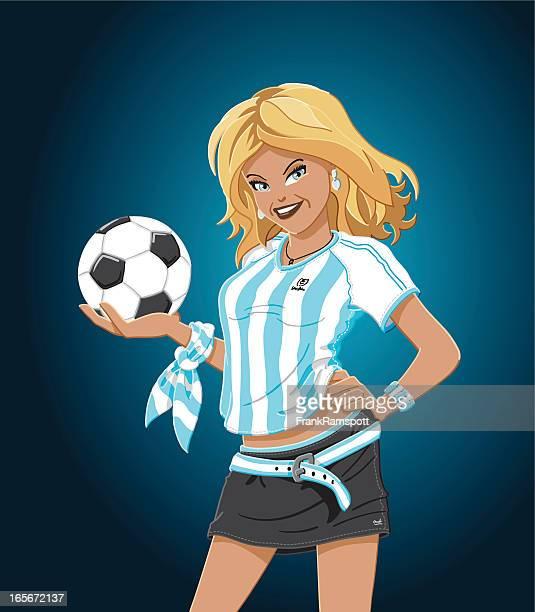 Fußball Mädchen Argentinien