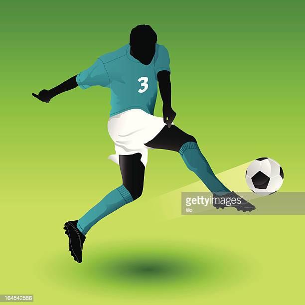 Fußball-Aufnahme