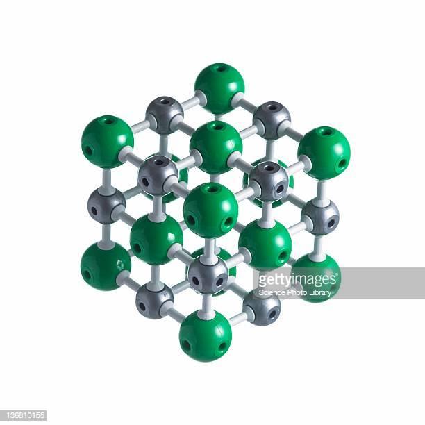 Sodium chloride lattice