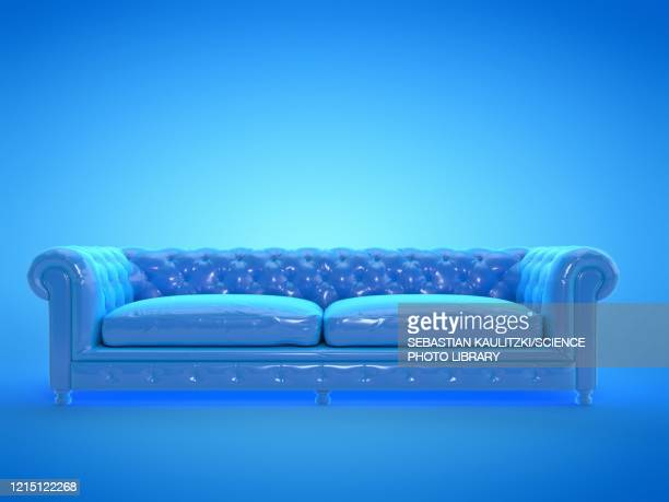 sofa, illustration - colour image stock illustrations