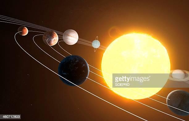 Solar system, artwork
