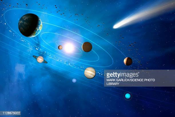 solar system, illustration - 宇宙・天文点のイラスト素材/クリップアート素材/マンガ素材/アイコン素材