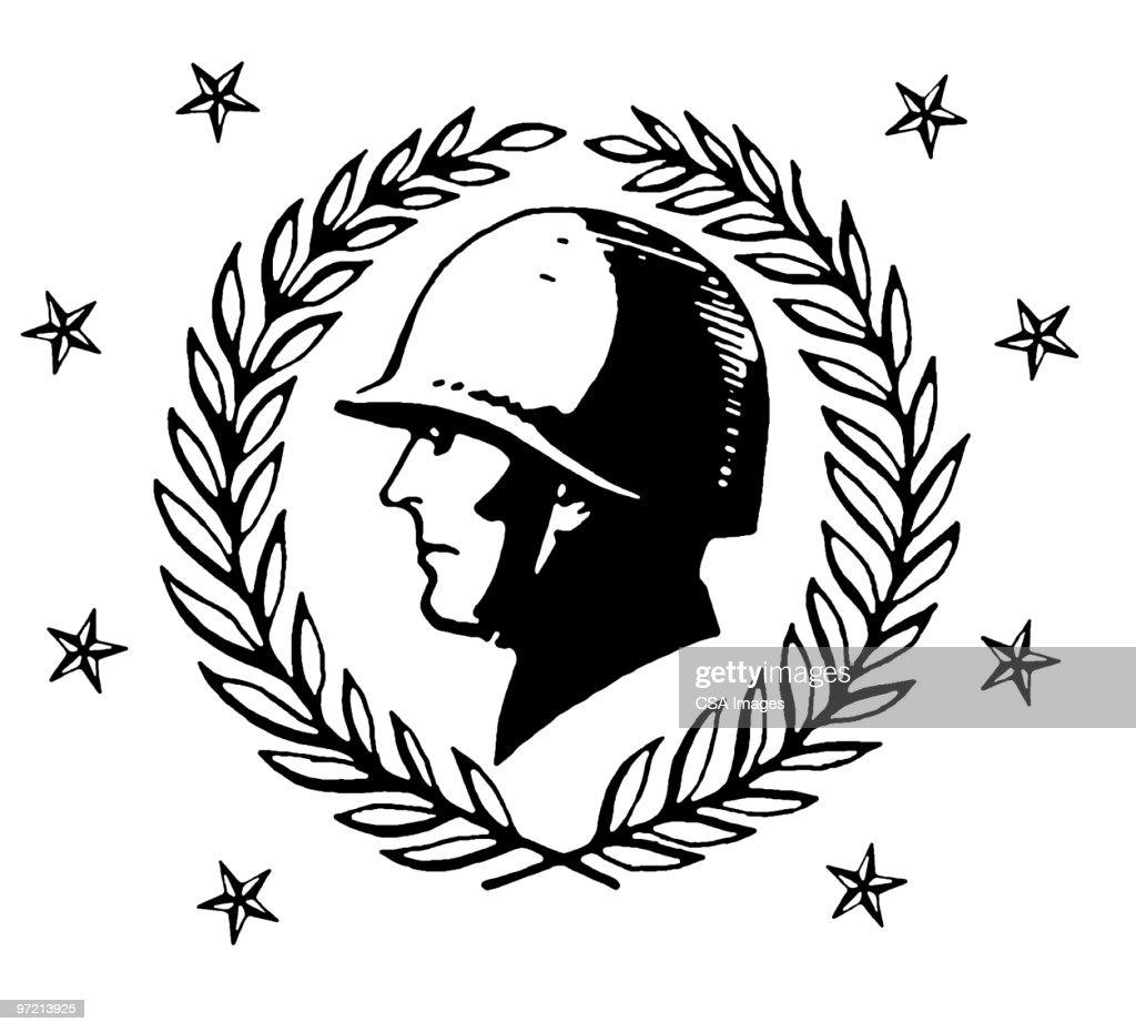 Soldier : stock illustration