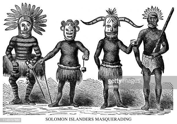 Solomon Islanders Masquerading