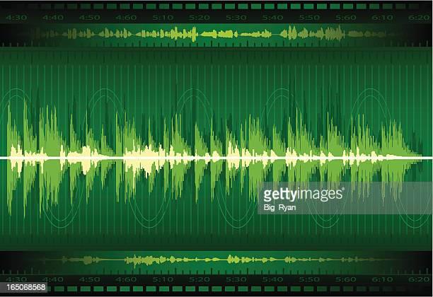 sonar - audio equipment stock illustrations