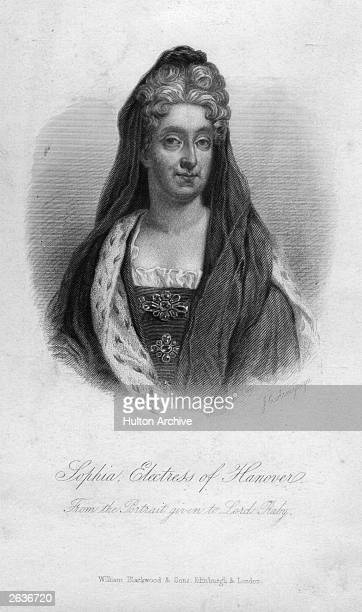 Sophia , mother of George I, Princess Palatine later Electress of Hanover, circa 1710.