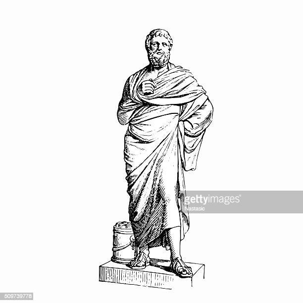 sophocles - marble rock stock illustrations, clip art, cartoons, & icons