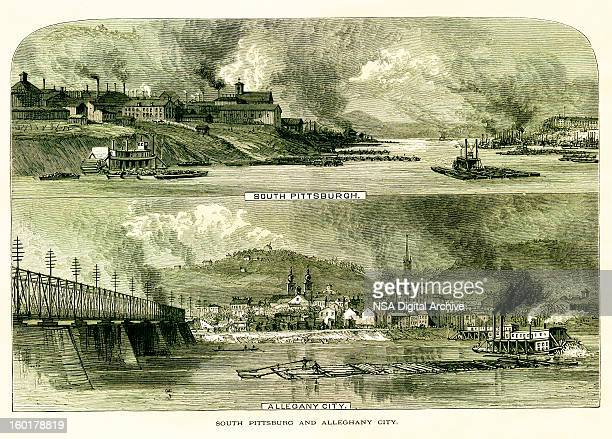 South Pittsburgh and Allegheny City, Pennsylvania