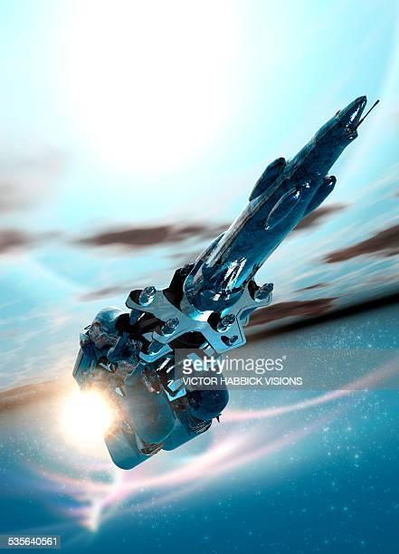 Space craft, artwork