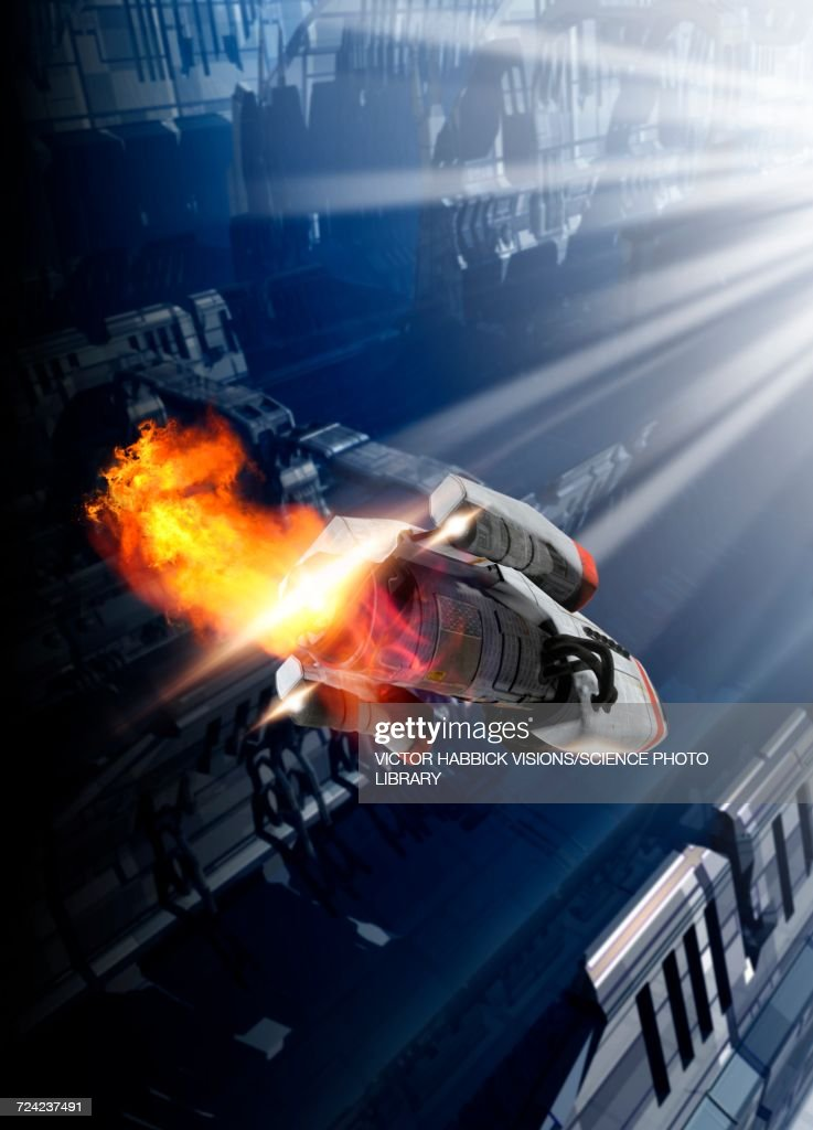 Space craft : Stock Illustration