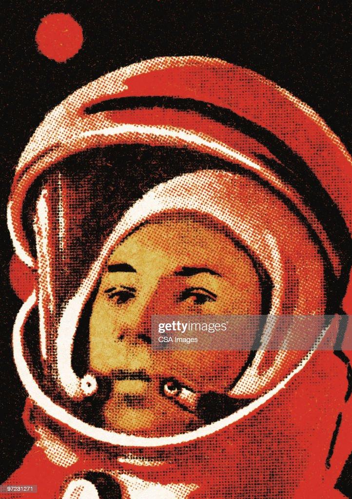 Space explorer : stock illustration
