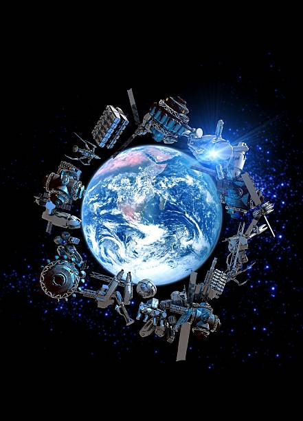 Space Junk, Conceptual Artwork Wall Art