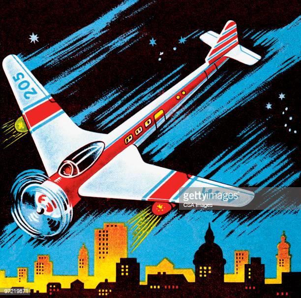 illustrations, cliparts, dessins animés et icônes de space rocket - catastrophe aérienne