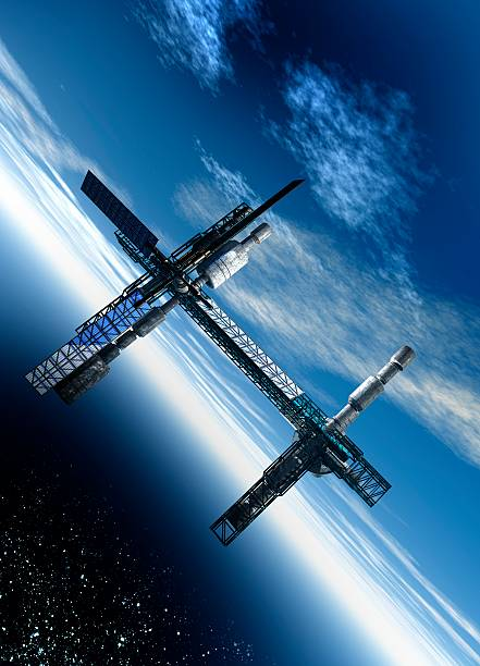 Space Station, Artwork Wall Art