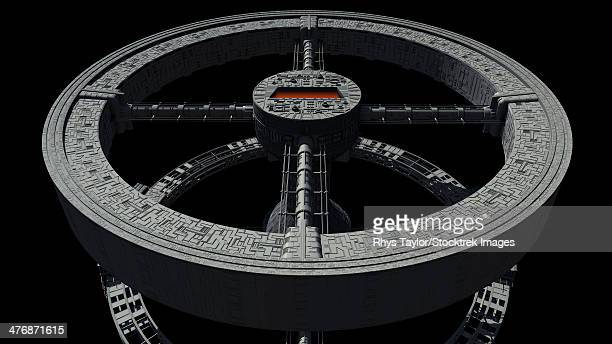 Space station from 2001: A Space Odyssey.