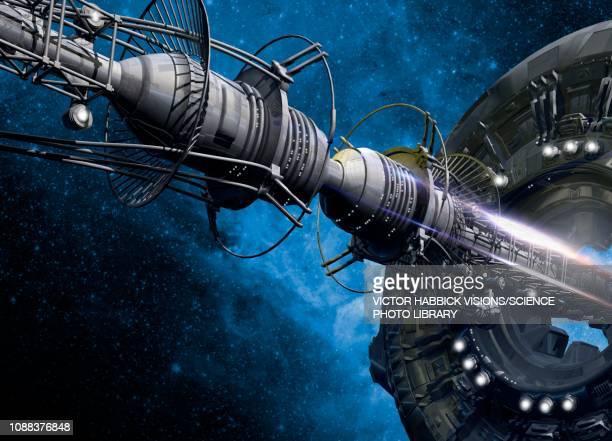 Space station, illustration