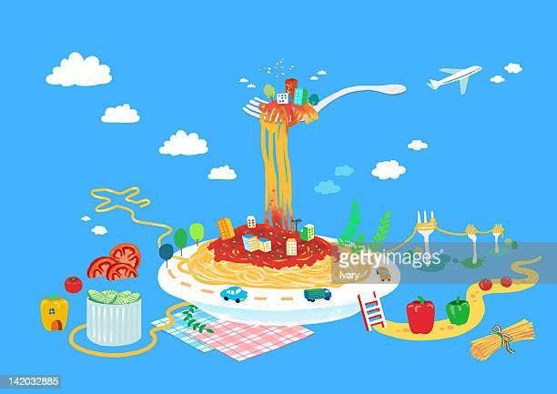 Spaghetti Food