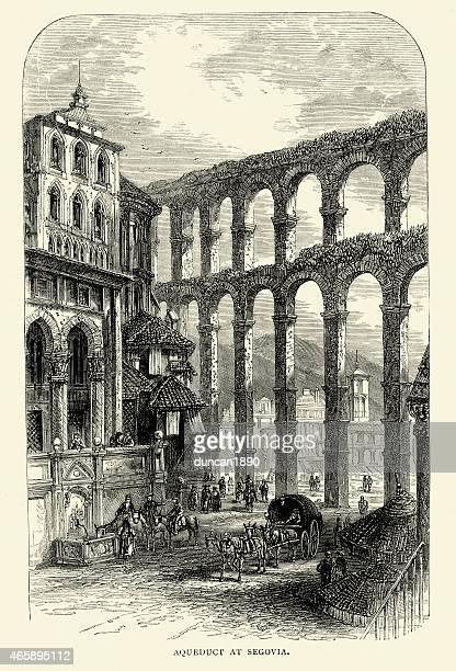 Español fotos-acueducto de Segovia