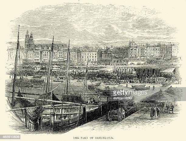 Spanish Pictures - The Port of Barcelona