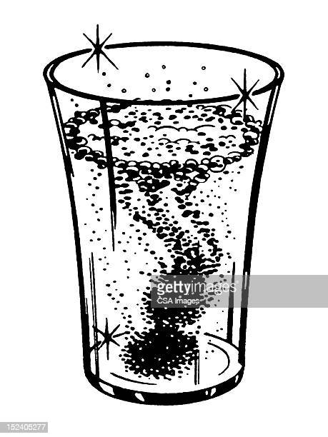 sparkling drink - carbonated stock illustrations, clip art, cartoons, & icons