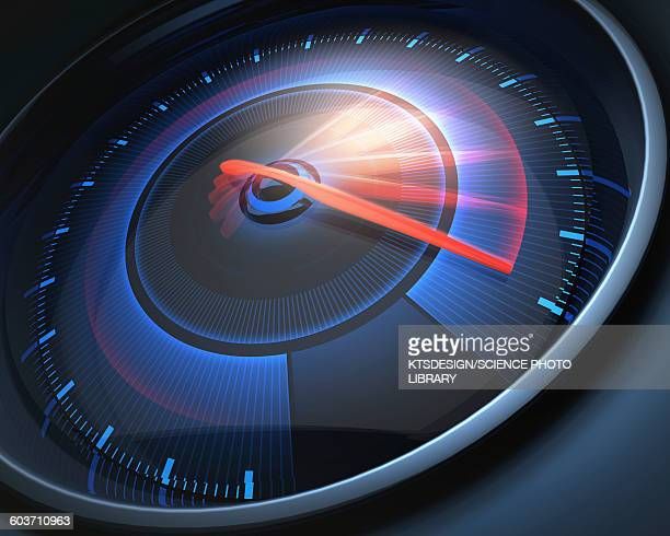Speedometer, illustration