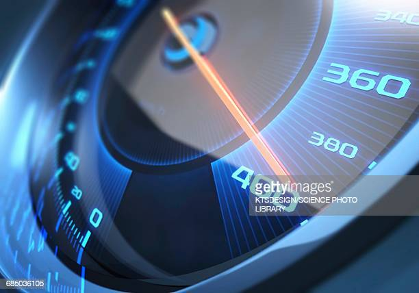 speedometer, illustration - speedometer stock illustrations