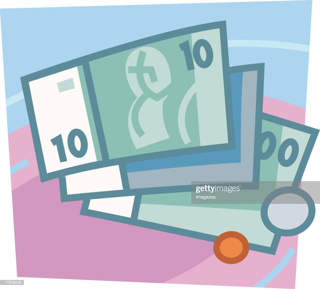 spending money : Illustration
