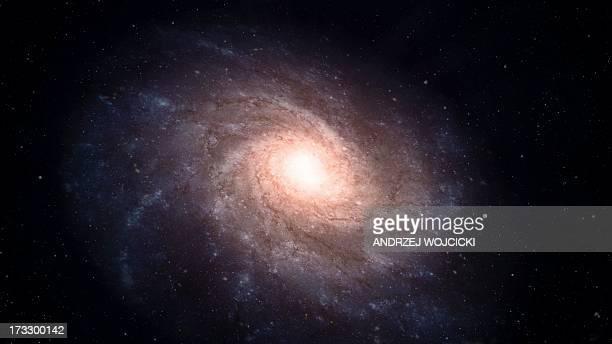 Spiral galaxy, artwork