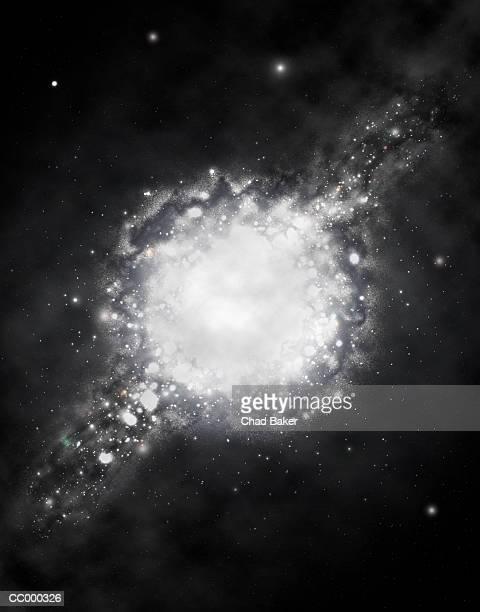 ilustraciones, imágenes clip art, dibujos animados e iconos de stock de spiral galaxy - galaxiaespiral