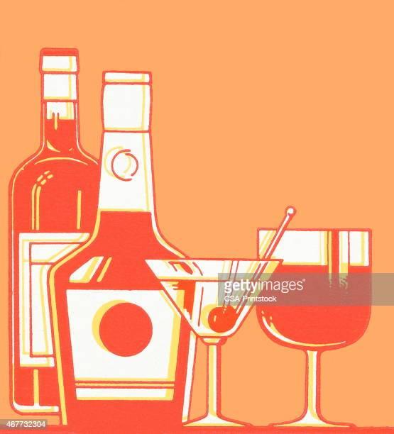 spirits - vodka stock illustrations, clip art, cartoons, & icons