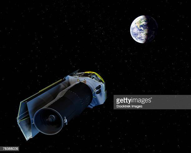 spitzer space telescope - number of people stock illustrations, clip art, cartoons, & icons
