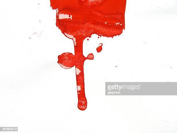 ペイントスプラッシュシリーズ - 血しぶき点のイラスト素材/クリップアート素材/マンガ素材/アイコン素材