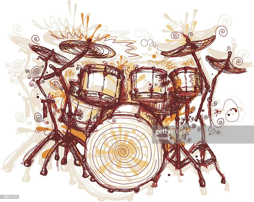 Splashing Drums