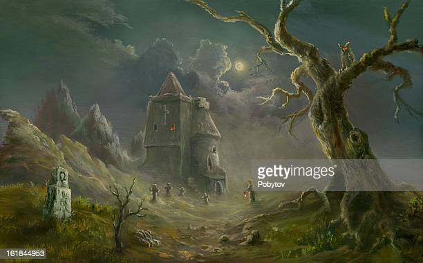 Spooky iglesia