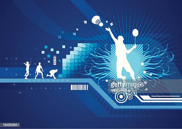 スポーツの抽象 - スポーツ バドミントン点のイラスト素材/クリップアート素材/マンガ素材/アイコン素材