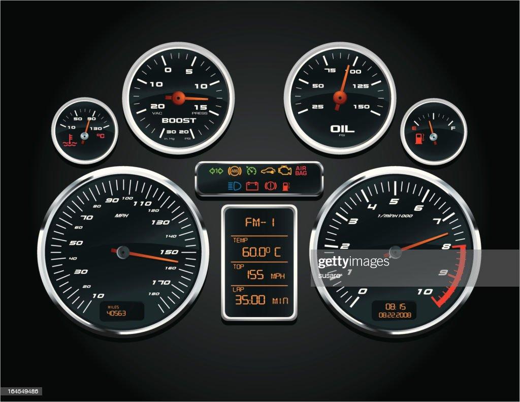 Sport Car Speedometer