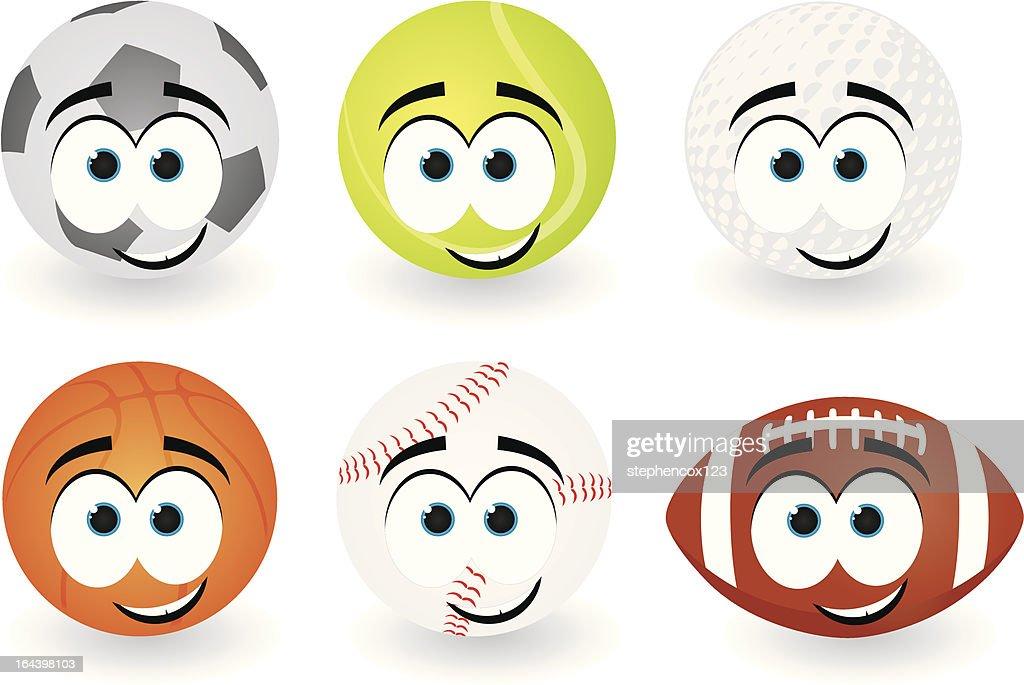 Sports Cartoon Characters