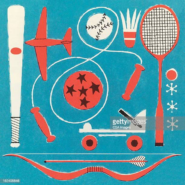 sports equipment - jump rope stock illustrations, clip art, cartoons, & icons
