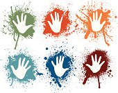 Spray Hands