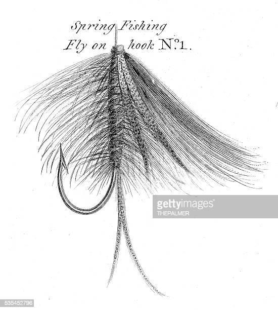 Primavera Anzol de Pesca gravação 1812