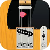 Square guitar icon