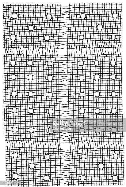 square pattern - 織物点のイラスト素材/クリップアート素材/マンガ素材/アイコン素材