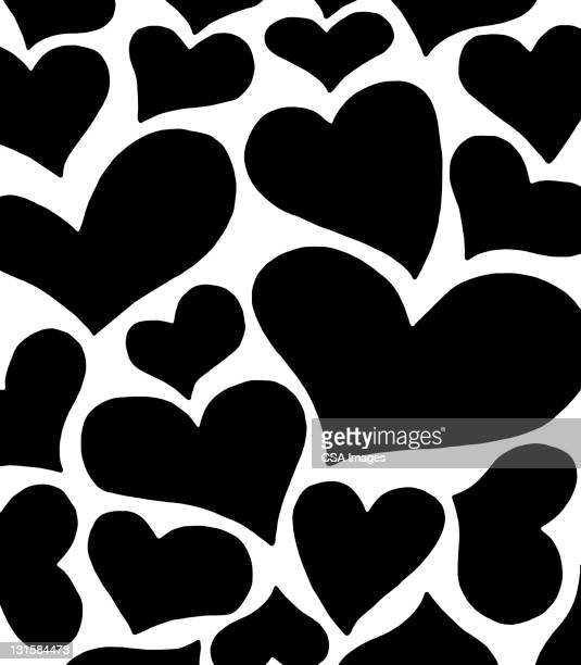 squishy heart pattern - desire stock illustrations