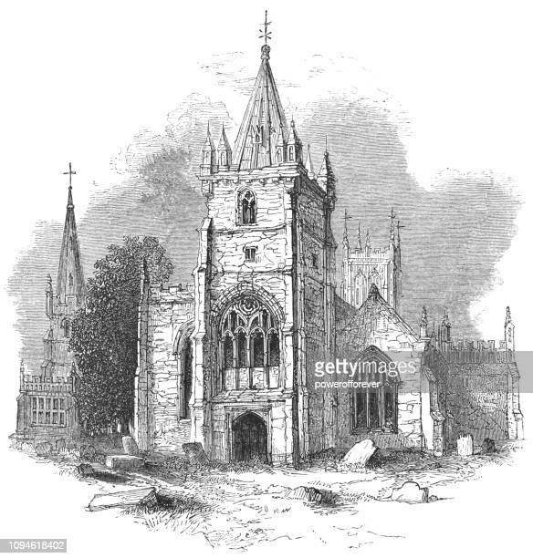 St Lawrence's Church at the Town of Evesham in Worcestershire, England