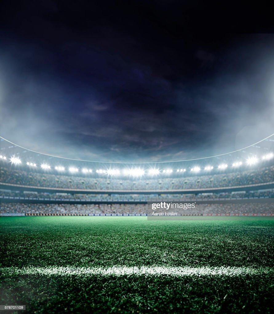 Stadium lights : stock illustration