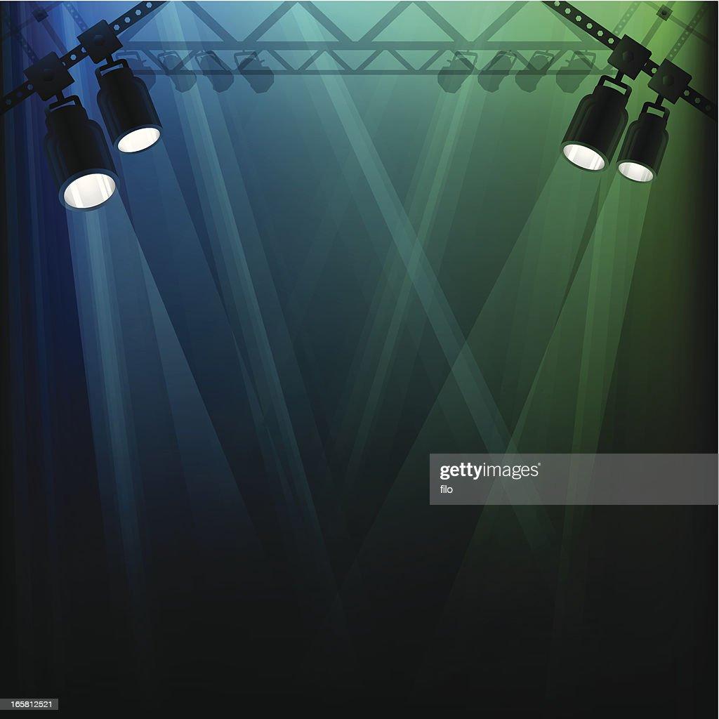 Stage Lights : stock illustration