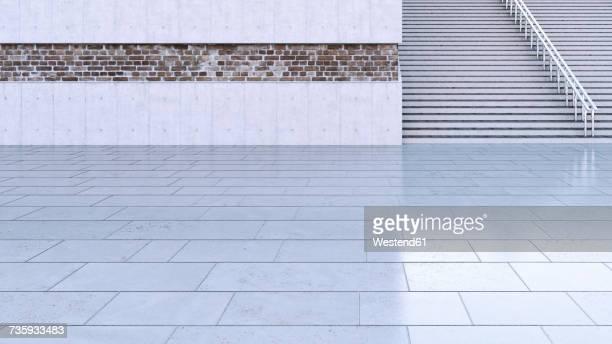 Staircase, 3D Rendering