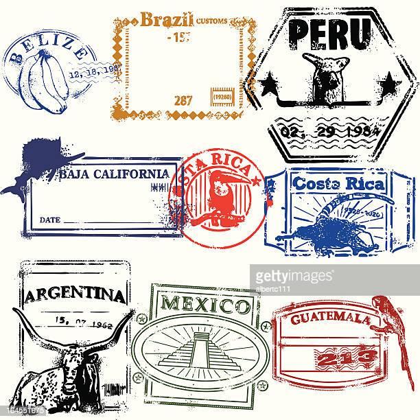 Stamps de la Raza