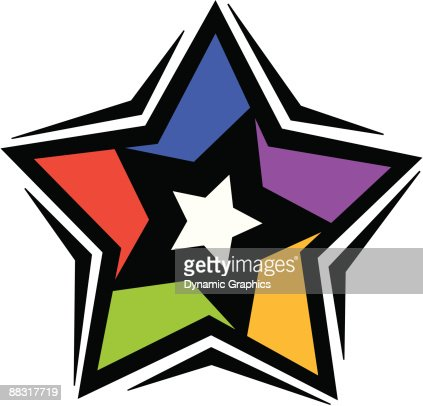 Star Color Illustrator Ver 5 Grouped Elements Reach For The Stars A