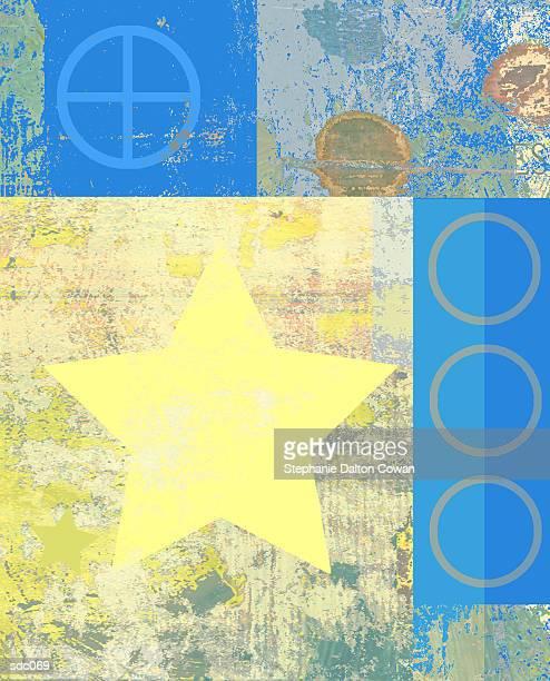 star, moon & sun symbols - medium group of objects stock illustrations, clip art, cartoons, & icons
